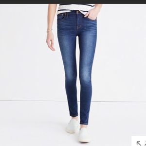 Madewell High Rise Skinny Jeans in Polly wash